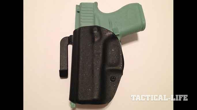 YetiTac Glock 43 holster quick claw front