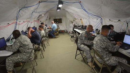 Cyber Protection Team U.S. Army training