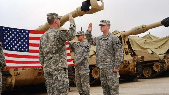 U.S. Army Re-enlistment September 2015