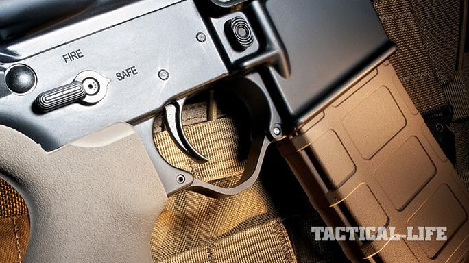 Black Dawn Bravo Rifle SWMP 2012 trigger