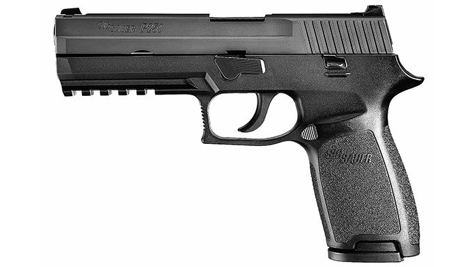 Concealed Carry Pistols Under $500 Sig Sauer P250 Full Size