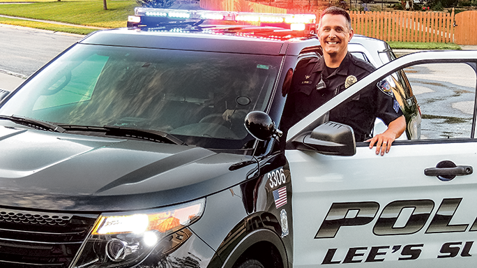 Sergeant Aaron Evans Lee's Summit Police Department