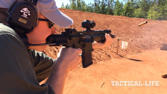 LWRC IC-PDW rifle exclusive