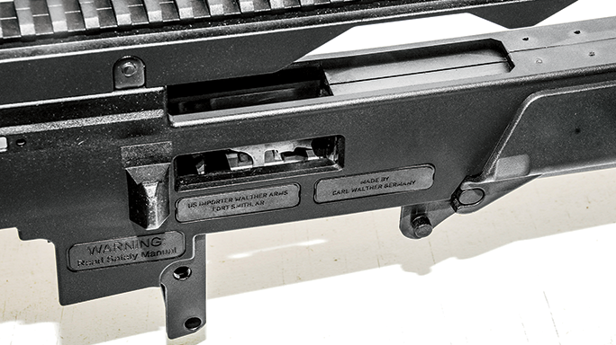 Walther HK G36 Replica Rifle Rimfires 2015 ejection port