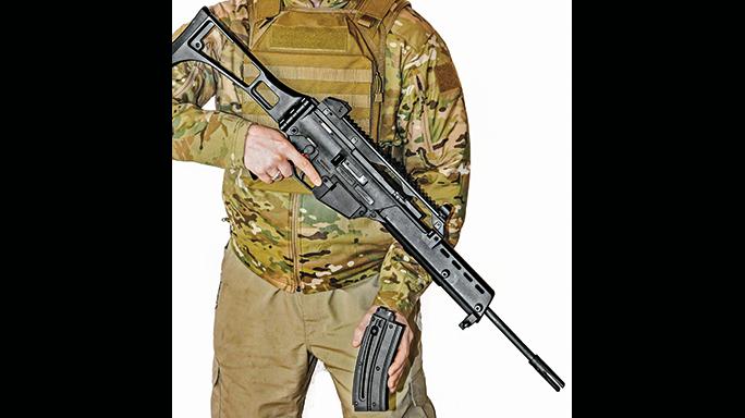 Walther HK G36 Replica Rifle Rimfires 2015 reload