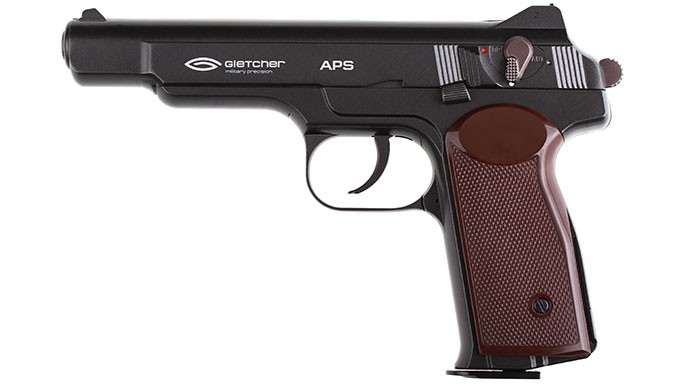 Gletcher APS Air Pistol left