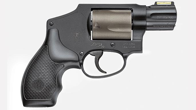 GWLE August 2015 SMITH & WESSON MODEL 340PD snub-nose revolver