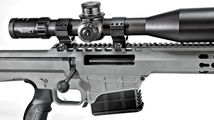 Barrett 98B Tactical Rifle GWLE June 2015 scope