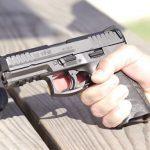 Heckler & Koch VP40 pistol .40 caliber np