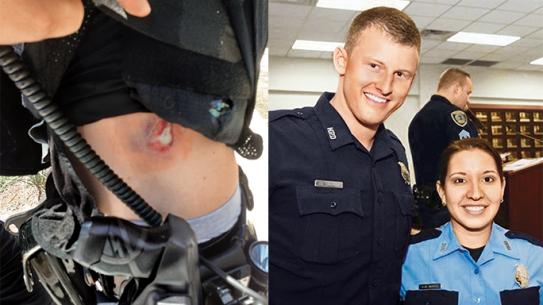 It Happened To Me Bulletproof Vest Houston Police