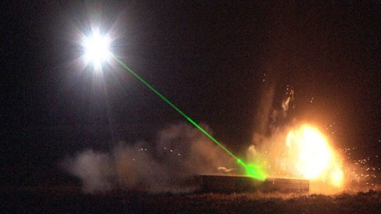 Army Laser Bomb Disposal
