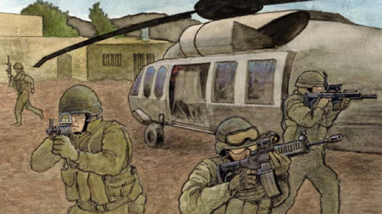 Operation Neptune Spear Spec Ops 2015 bin Laden drawing