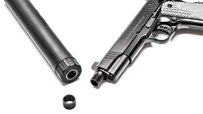 Remington AAC 1911 connect