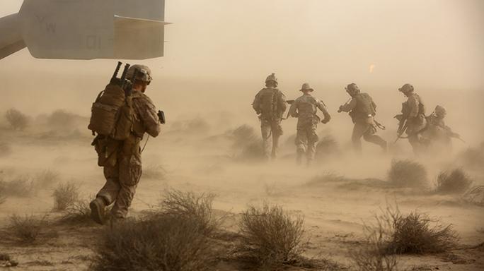 SPMAGTF Marines TRAP Training Exercise
