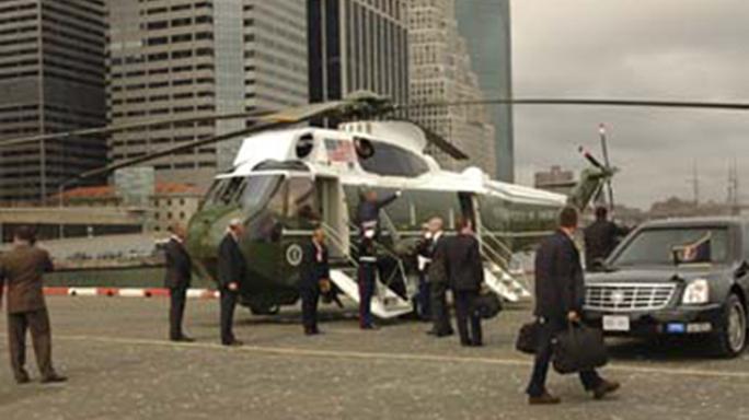 US Secret Service 150th Anniversary Wall Street
