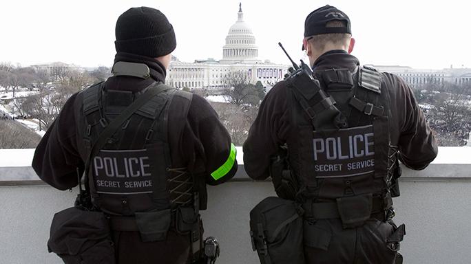 US Secret Service 150th Anniversary 2009 Inauguration