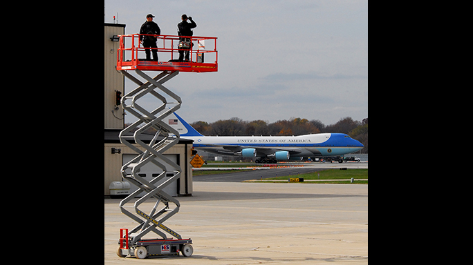 US Secret Service 150th Anniversary countersnipers Air Force One