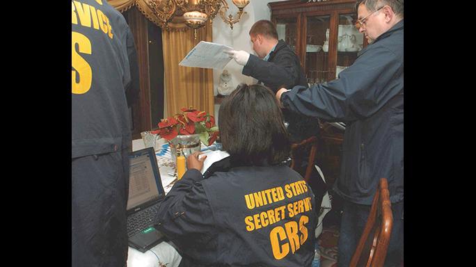 US Secret Service 150th Anniversary raid