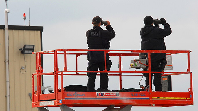 US Secret Service 150th Anniversary countersnipers