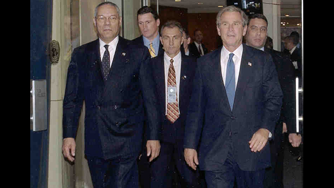US Secret Service 150th Anniversary Colin Powell