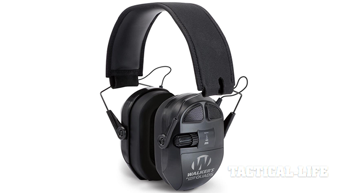 Walkers Game Ear Ultimate Power Muff Quads Series