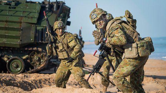 Marines Amphibious Operations Talisman Sabre 2015