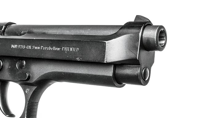 Wilson Combat Beretta 92FS guide rod before