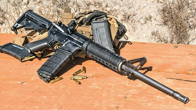 Black Guns 2016 RUGER AR-556