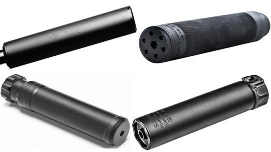 10 Suppressors Black Guns 2016