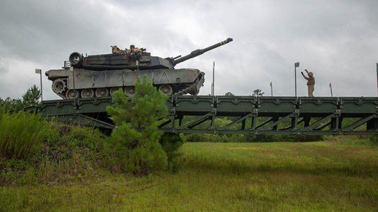 Marines Bridge Company M1A1 Abrams Tank
