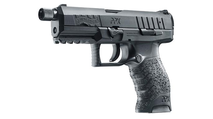 Walther PPX SD 9mm handgun GWLE left