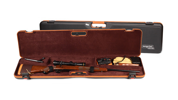 IntelCase Negrini 1619LX Compact Rifle Case