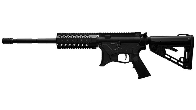 Tresna Defense JAG9G BU rifle left