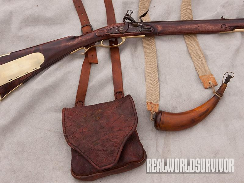 Have a bag and horn set handy for each flintlock longrifle you own.