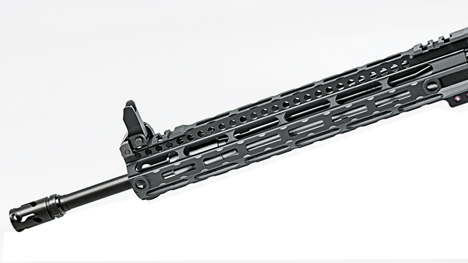 Midwest Industries M-LOK 223 Wylde Rifle front sight
