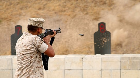 Provost Marshal's Office Security Augment Force Training