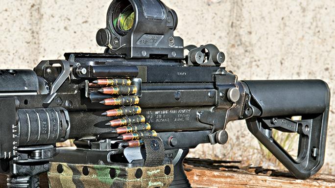 Machine Gun Armory SAW K SWMP August belt