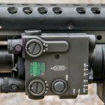 Machine Gun Armory SAW K SWMP August laser
