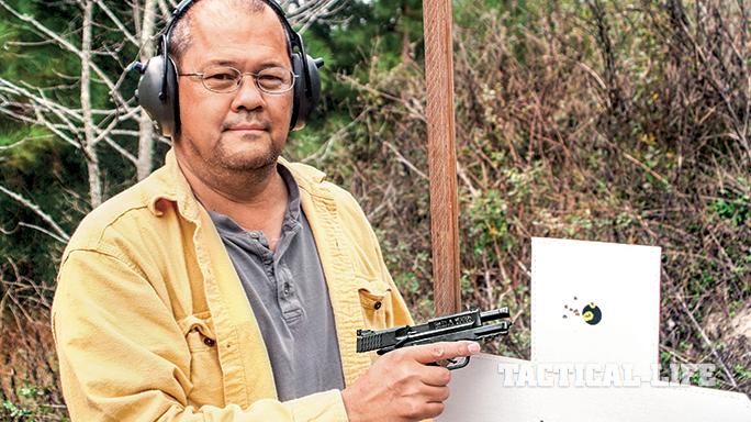 Smith & Wesson M&P22 Rimfire 2015 target Allen Davis