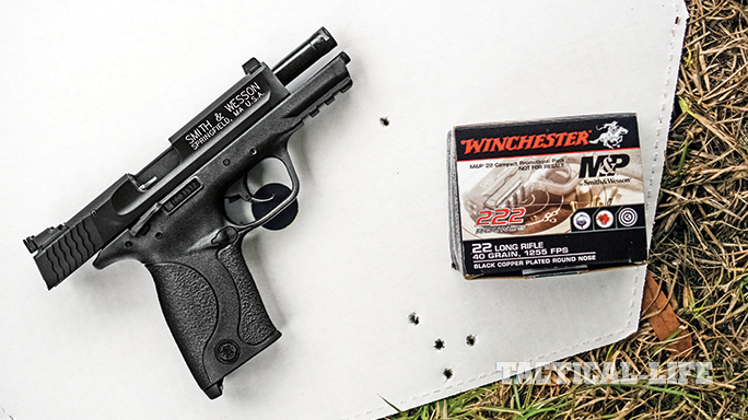 Smith & Wesson M&P22 Compact Rimfire 2015 target