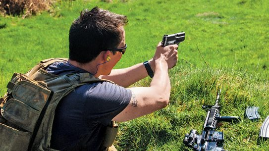 Sig Sauer M11-A1 9mm round Tactical Weapons training