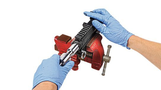 Brownells AR-15/M16 Upper Receiver Lapping Tool step 5