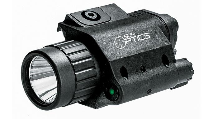 Black Guns 2016 Sun Optics USA Illuminated Laser Light