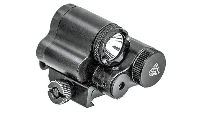 Black Guns 2016 UTG Sub-compact LED Light & Aiming Adjustable Red Laser