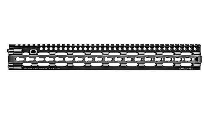 Black Guns 2016 rails grips Daniel Defense SLiM Rail
