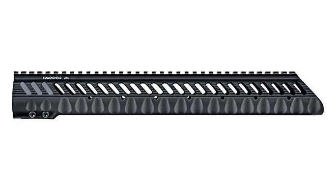 Black Guns 2016 rails grips Diamondhead VRS T-308L Free-Floating Handguard