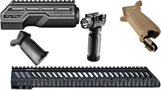 BLACK GUNS 2016: Top 18 AR Rails and Grips