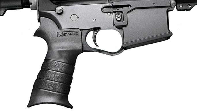 Black Guns 2016 rails grips Stark BRU Pistol Grip