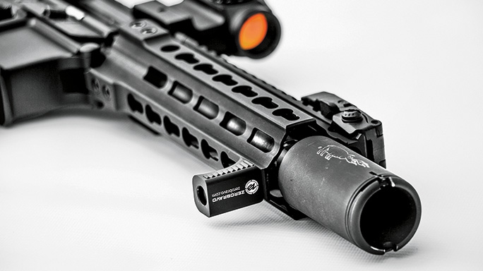 Black Guns 2016 rails grips ZeroBravo RHS