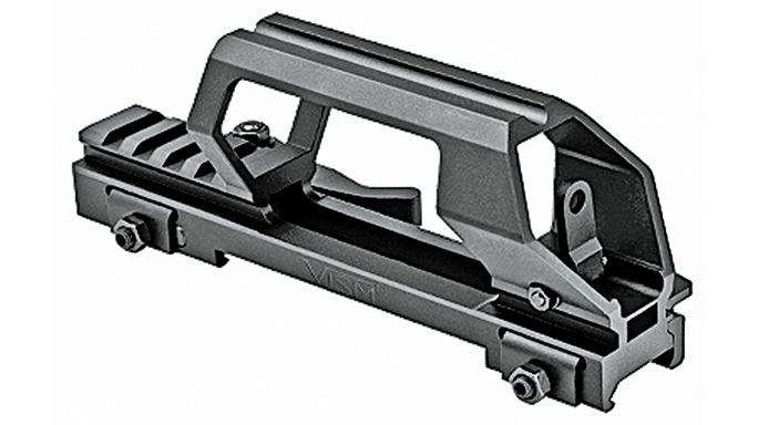 Black Guns 2016 NCStar DCH Gen 2 Carry Handle & Dot Sight